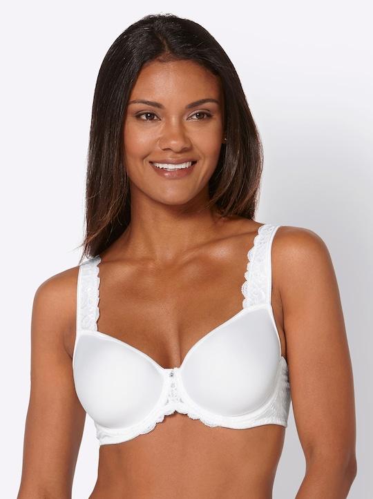 Viania Schalen-BH mit Bügel - weiß
