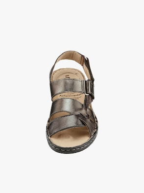 Sandalette - bronzefarben