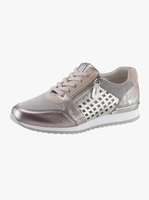 Sneaker - rosé-silberfarben