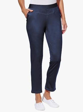 Kalhoty v balení po 2 ks - námořnická+námořnická-puntík