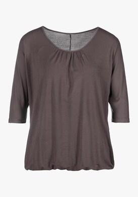 LASCANA 3/4-Arm-Shirt - anthrazit
