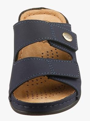 Franken Schuhe Pantolette - marine