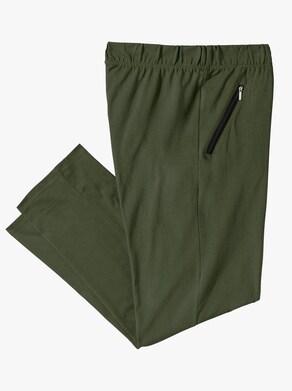 Kalhoty pro volný čas - jedlová zelená