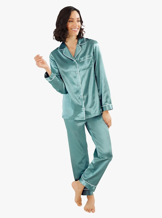 wäschepur Pyjama - salbei