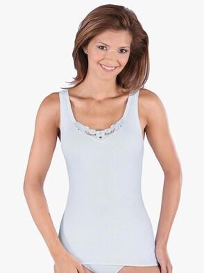Achselhemd - weiß