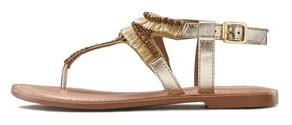 LASCANA Sandale - goldfarben