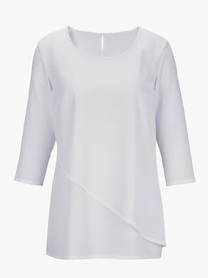 Comfortabele blouse - wit