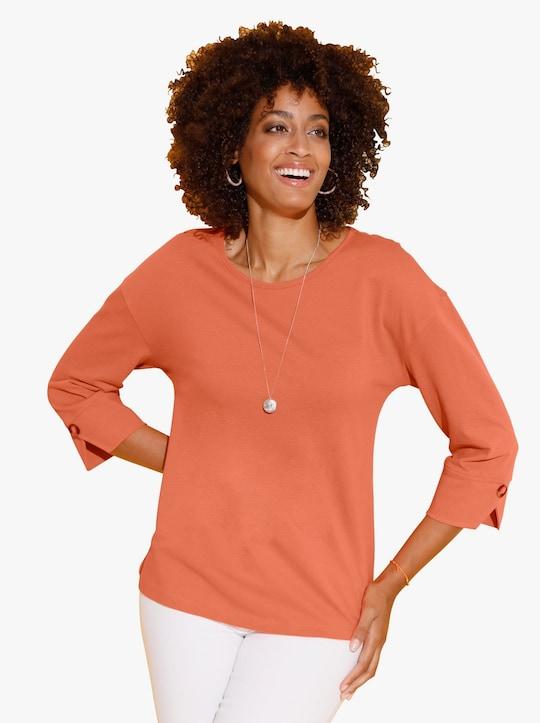 Shirt - mandarijn