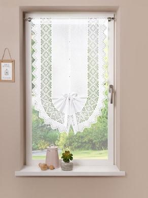 Fenster- und Türbehang - weiß