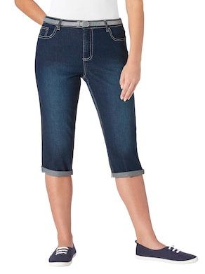Collection L Capri-Hose - blue-stone-washed
