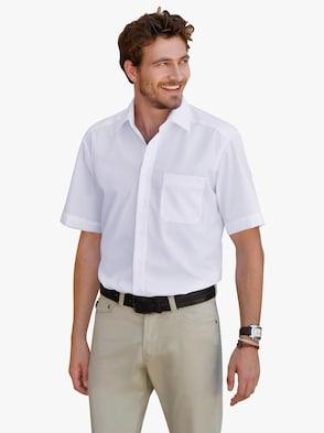Kurzarm-Hemd - weiß