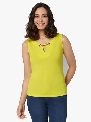 Shirttop - limone
