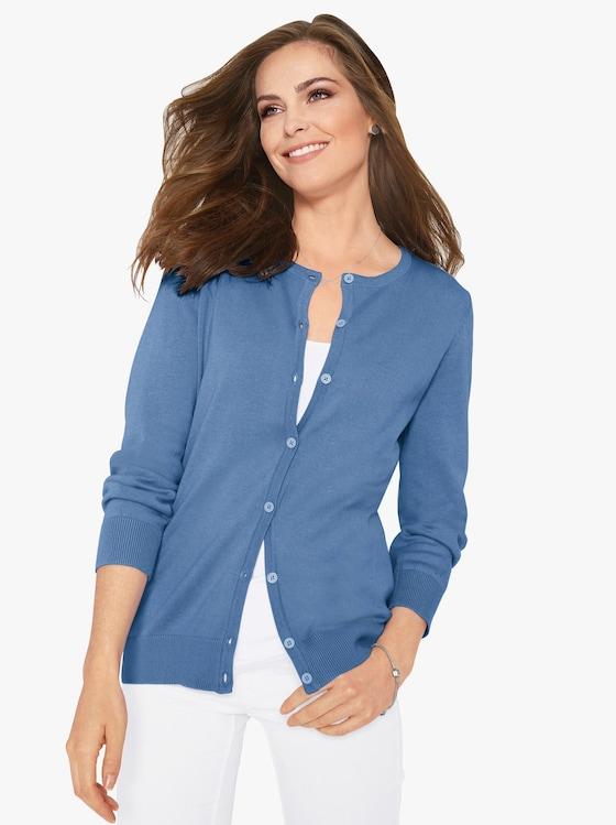 Vest - blauw