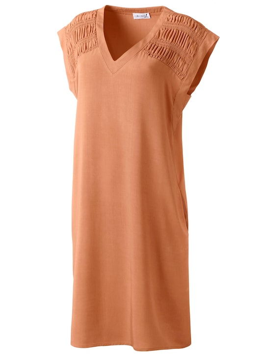 Kleid - kürbis