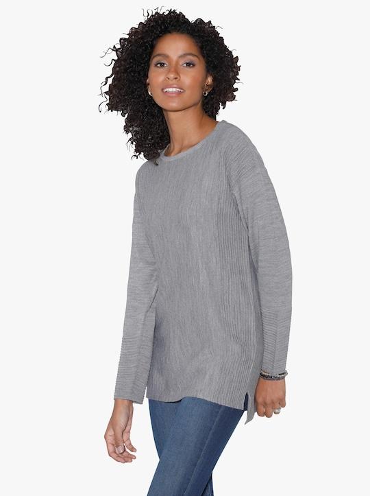 Pullover - grijs