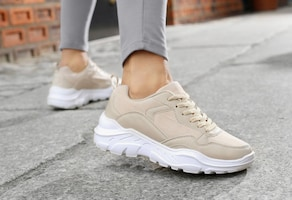 LASCANA Sneaker - beige