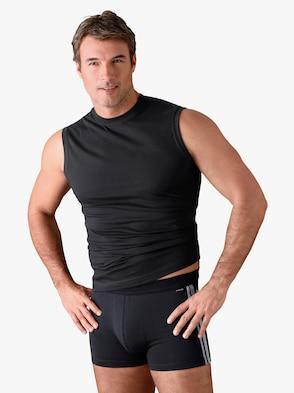 Unterhemd - schwarz