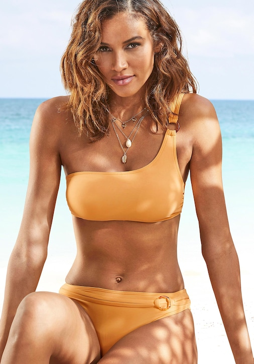 s.Oliver Bustier-Bikini-Top - gelb