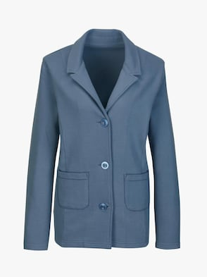 Shirtblazer - blau