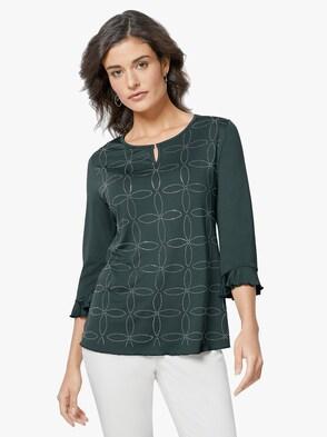 Shirt - dunkelgrün