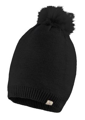 PURSET Bommelmütze - schwarz