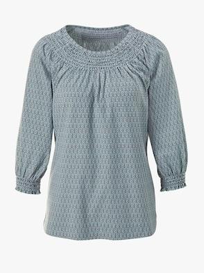 Shirt - mint-gemustert