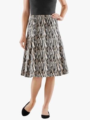Sukně - velbloudí-potisk