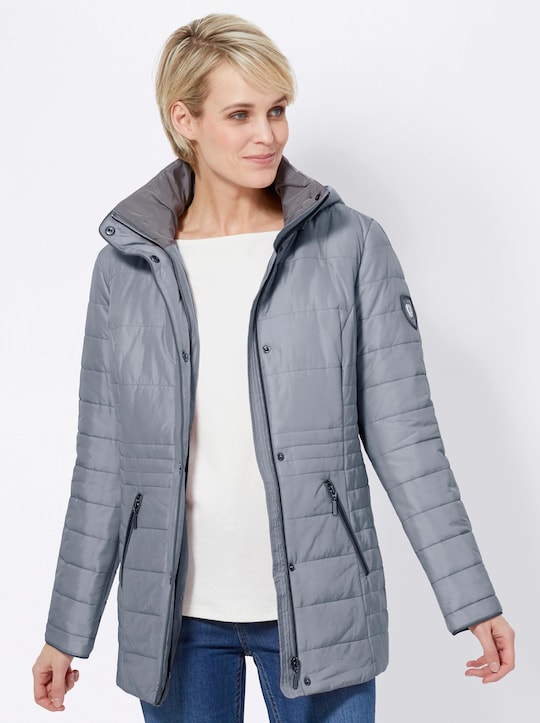 Collection L Jacke - eisblau