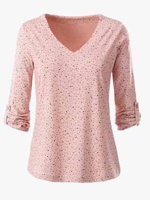 Shirt - rosé-gemustert