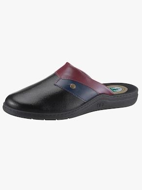 Pantoffel - schwarz