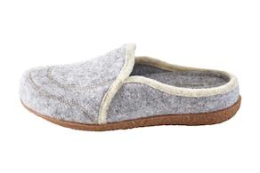 heine home huisschoenen - grijs