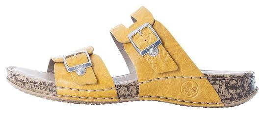 Rieker Pantolette - gelb