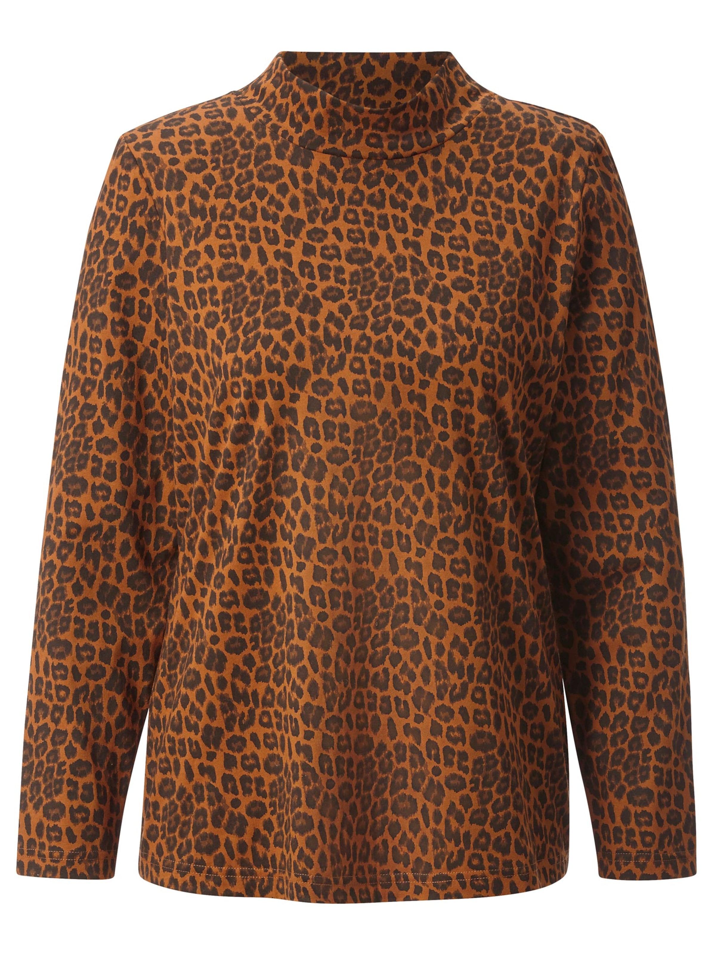 witt weiden -  Damen Shirt cognac-bedruckt