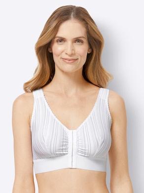 wäschepur Vorderverschluss-BH - weiß