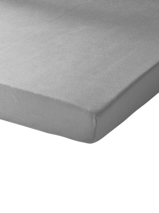 Schlafgut Spannbetttuch - grau