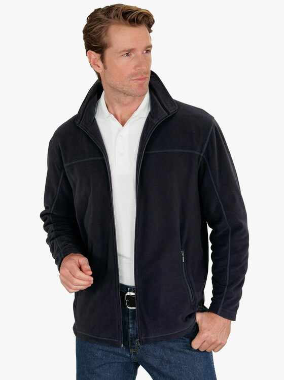 Fleecová bunda - námořnická modrá