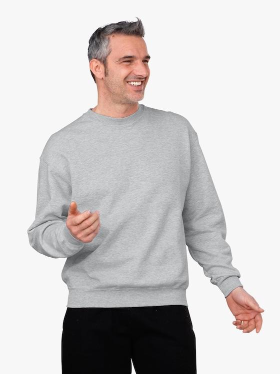 Fruit of the Loom Sweatshirt - grau-meliert