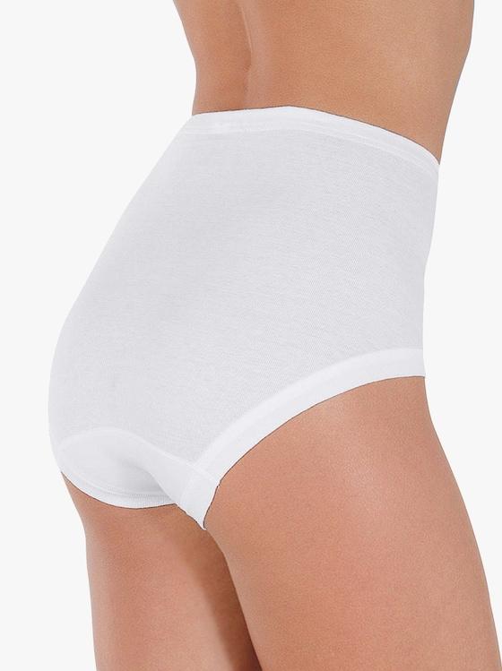 Schiesser Taillenslip - weiß