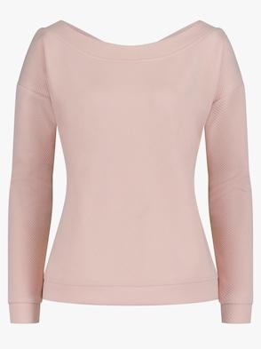Sweatshirt - puderrosa