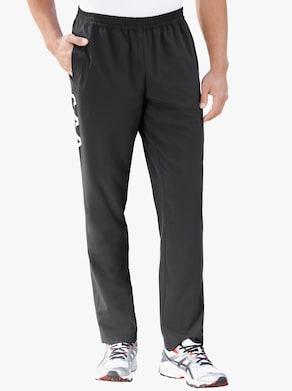 Kalhoty pro volný čas - černá-bílá