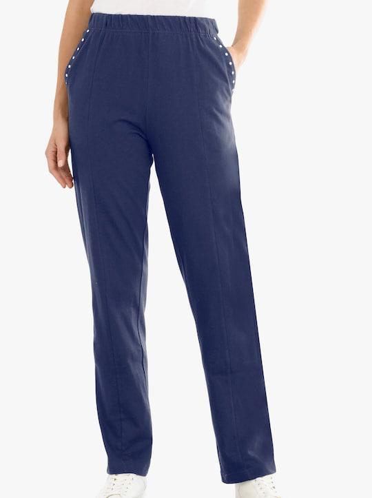 Kalhoty pro volný čas - námořnická modrá