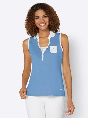 Shirttop - himmelblau