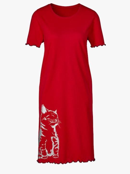 wäschepur Sleepshirts - blau + marine + rot