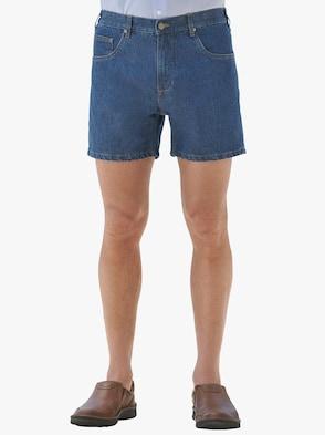 Jeans-Shorts - blue-stone-washed