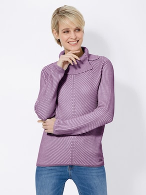 Collection L Pullover - flieder