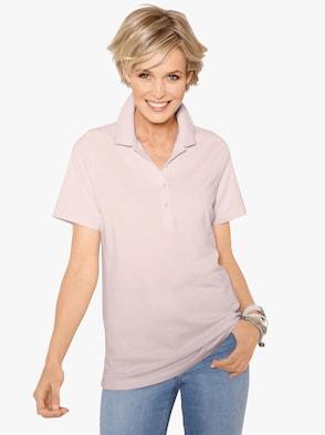 Poloshirt - roze