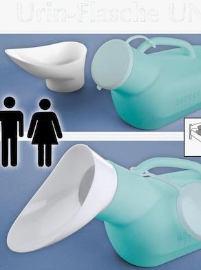 Urin-Flasche - grün