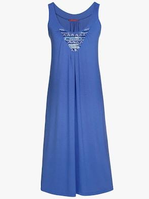 Sommerkleid - royalblau