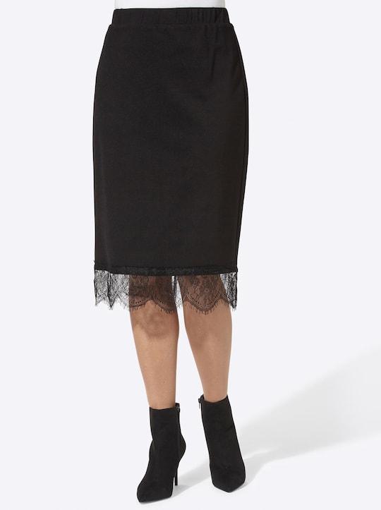 Fair Lady Jersey-Rock - schwarz