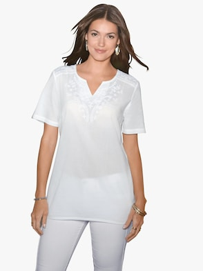 Tunika - weiß